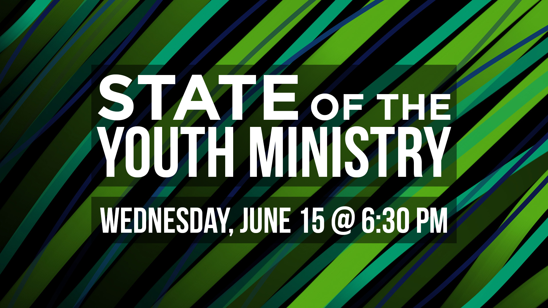 State of the Youth Ministry